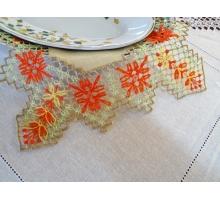 Souvenir napkin 12 side lace 25х25