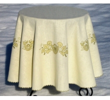 Tablecloth Reneissance Applique 145круг