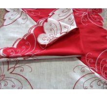Souvenir napkin Buttrfly 60х60
