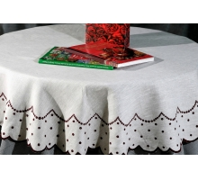 Tablecloth Chamomile 145круг