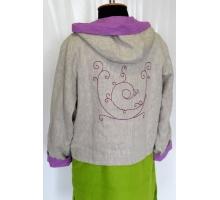 Jacket Embroidery-Hood