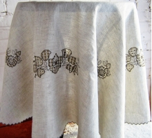 Tablecloth Reneissance Fly 145круг
